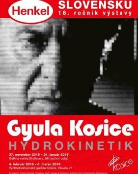 Gyula Kosice Hydrokinetik. Bratislava-Kosice