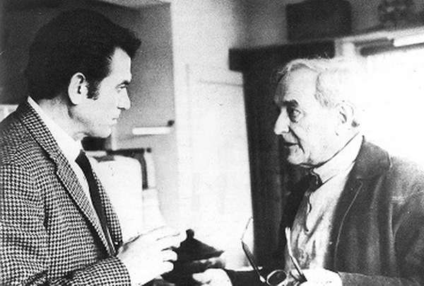 Gyula Kosice y Naum Gabo