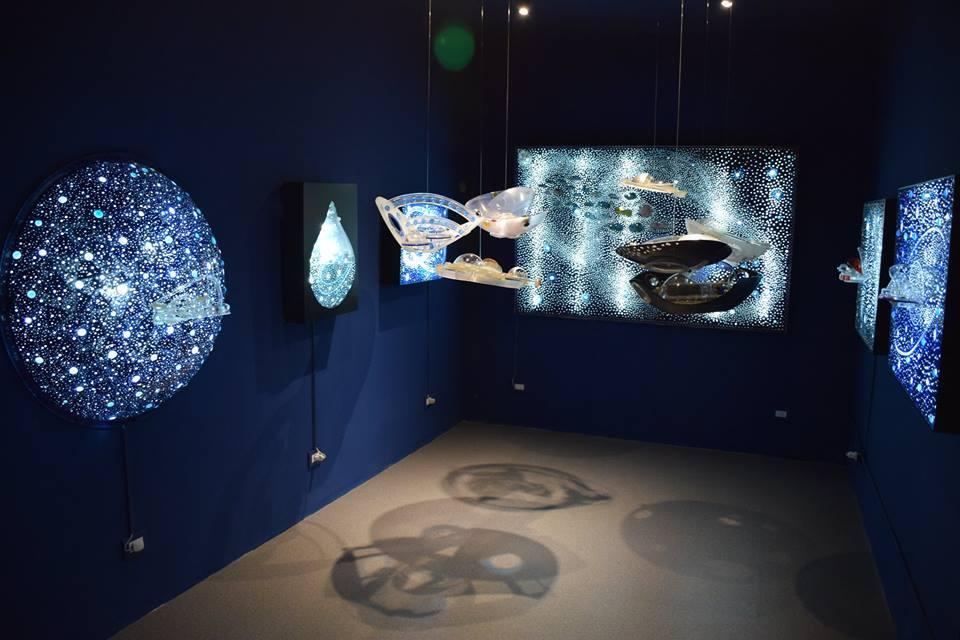 La Ciudad Hidroespacial en la muestra permanente del Museo Kosice, Buenos Aires