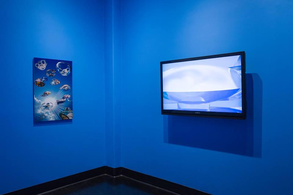 Fotos y videos de la Ciudad Hidroespacial en UCR ARTSBlock, California (2017-18)