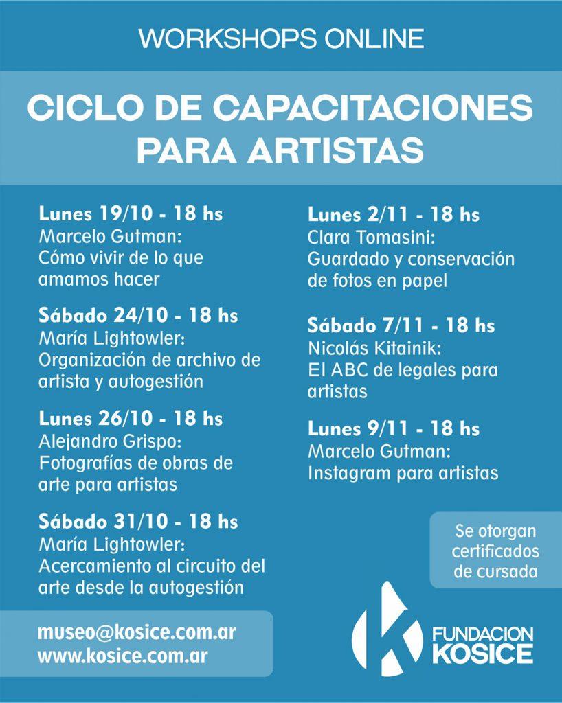 Workshops Fundación Kosice
