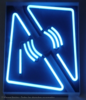 Relieve lumínico gas neón