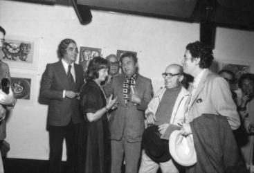 Raúl Alonso, Raquel Forner, Antonio Berni, y Rafael Squirru