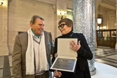 2015 – Homenaje de la Ministra de Cultura de la Nación en el Centro Cultural Kirchner
