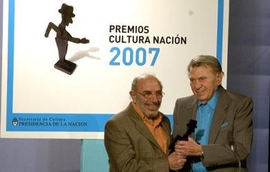 2007 – Premio Cultura Nación, otorgado por la Secretaría de Cultura, Buenos Aires.