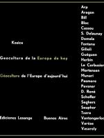 GEOCULTURA DE LA EUROPA DE HOY