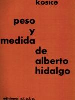 PESO Y MEDIDA DE ALBERTO HIDALGO