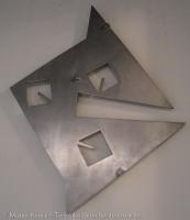 Tres cuadrados en triangulación